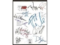 21 Jump Street Movie Script Signed Autographed: Jonah Hill, Channing Tatum, Johnny Depp, Ice Cube, Brie Larson, Ellie Kemper