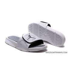1e5f7b46d 2018 Air Jordan Hydro 5 Retro Slide White Silver Top Deals