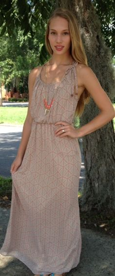$65 <3 Pinned from Bella's Boutique <3 #Maxi #Style #Fashion #Dress #Love #Summer #Shop