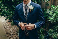 Waiting to say I do #groom #husbandtobe #weddingday #navysuit #thehorse #floraltie #whitebuttonhole