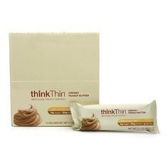 ThinkThin High Protein Bar, Creamy Peanut Butter 2.1 oz
