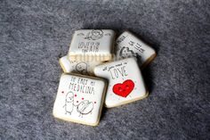 Cookies for Valentine's day Illustrated by www.pabloantelo.com Valentines Day, Cookies, Illustration, Accessories, Ideas, Food, Medicine, Valentines, Valentine's Day Diy