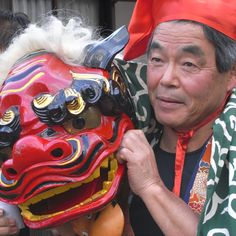 """Lion dancer by -sou- on Flickr 