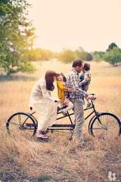 Family photoshoot - using any activity that the family partakes in