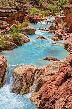 Havasu Creek, Havasu Falls and Grand Canyon 7 day rafting trip!