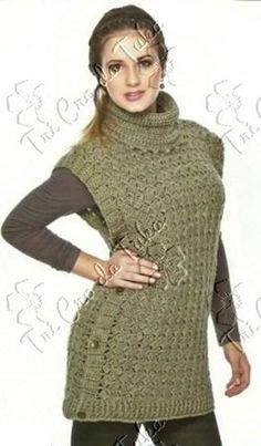 Crochet Top - Free Crochet Diagram - (tricrodatuka.blogsot)