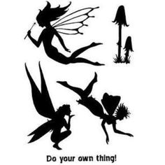 PI Clear Stamps: Fairy Silhouette