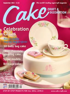 Great magazine for cake designs, full of projects and up to date cake news