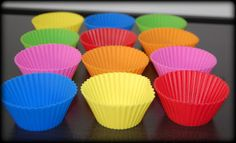 Make Lunches More Fun With Silicone Bento Divider Cup Molds #CBMuffinCups