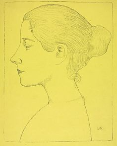 Portrait of a Young Woman (Profil de jeune fille), c. 1893 Aristide Maillol (French, 1861-1944)