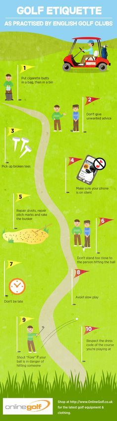 The Top 10 Tips On Good Golf Etiquette – The (sometimes) Unwritten Rules of Golf