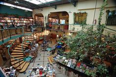 Las 22 librerías más bonitas del mundo: Librería El Péndulo - Ciudad de México, México | Skyscanner