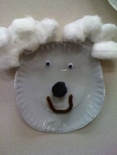 koala bear paper plate craft