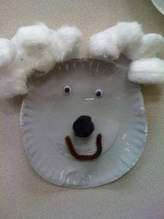 koala bear paper plate craft