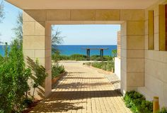 Book your escape at The Romanos, a Luxury Collection Resort, Costa Navarino. Our exclusive Costa Navarino hotel offers luxury accommodations & unmatched experiences. Luxury Accommodation, Hotels And Resorts, Hotel Offers, Costa, Greece, Sidewalk, Exterior, Tours, Vacation
