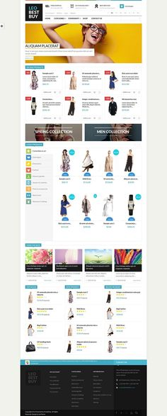 Leo Best Buy - Responsive #PrestaShop Fashion Store Theme