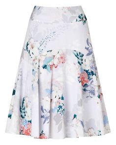 Mariah Floral Skirt