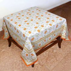 Cotton Tablecloth Square 137 X 137 Indian Decor Spring Floral Cotton by ShalinCraft, http://www.amazon.co.uk/dp/B00BLI6IFG/ref=cm_sw_r_pi_dp_CYCjsb0M1K8EY