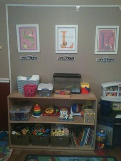 Thriving in a small space- playroom ideas