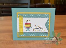Fun with Endless Birthday Wishes by Chris Slogar - Cards and Paper Crafts at Splitcoaststampers