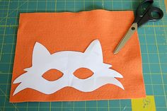 """The fall fox party  (""""kettu"""" party) is this weekend and I've been DIYing some fun party stuff including a couple of fox costumes. Little P..."""