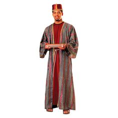 Men's Balthazar King Costume One Size Fits Most, Multi-Colored