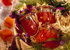 Pineapple-Apricot Jam - tropical taste with maraschino cherries, pineapple and dried apricots