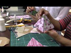 ▶ 06/09/2013 Mulher.com - Caixa Pirâmide (cartonagem) - Alice Yozhiyoka (Bloco 2/2) - YouTube