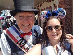 Magic Kingdom's Mayor 'George Weaver' has passed Magic Kingdom, Walt Disney World, Panama Hat, Captain Hat, Panama