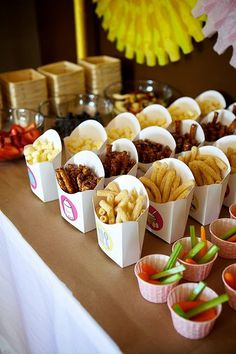 Fun Snack Food for a Kids Party!