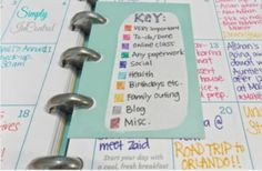 These perfect #planners are super cute and will keep your busy schedule #organized