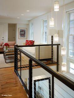 Loft idea...like the stair rails