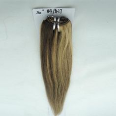 1 PCS Dyed Straight Brazilian Hair Extensions Mixed Color #4/#27 100g/pcs
