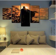 Batman Wall Art Canvas Painting (Unframed) size1:30x40cmx2,30x60cmx2,30x80cmx1…