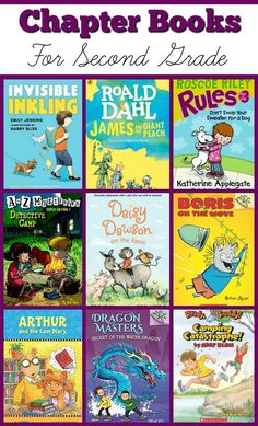 Chapter Books For Second Grade - Books kids enjoy! Second Grade Books, Teaching Second Grade, 2nd Grade Books For Boys, 2nd Grade Reading Books, Kids Reading, Guided Reading, Reading Lists, Book Lists, Children's Literature