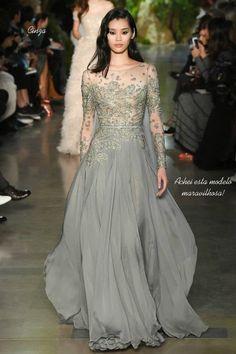 Vestidos para formandas, madrinhas e noivas - Coleção haute couture Elie Saab 2015