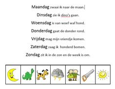 weekkalender kleuterklas - Google Search