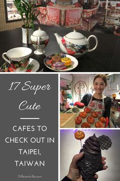 If you're looking for cute cafes in Taipei or want to visit one fo the many themed cafes in Taipei, this is the post for you. From the Vivienne Westwood cafe to the Moomin Cafe and a heap of indepndent cafes in Taipei you definitely want to see. Taipei Travel Guide, Taiwan Travel, Asia Travel, Italy Travel, Croatia Travel, London Travel, Unique Restaurants, London Restaurants, Moomin Cafe