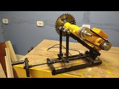 Canto Bar, Home Made Table Saw, Machine Tools, Woodworking Jigs, 3d Printing, Diy And Crafts, Steel, Furniture, Youtube
