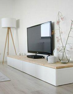 scandinavische furniture drawers TV lamp Vase