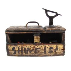 Shoe Shine Box | Orions Objects