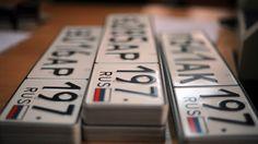 Номерные знаки автомобилей могут оснастить чипами...