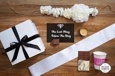 The+Last+Fling+Before+The+Ring+Hens+Day+Deluxe+Hamper+With+Sash