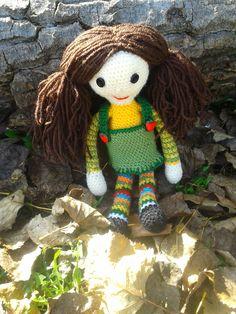 háčkovaná bábika/crochet doll