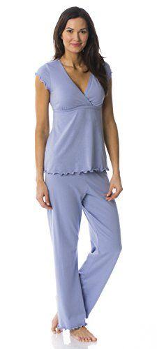 354a2786d50a5 Majamas The Genna Maternity & Nursing Pajama Set at Amazon Women's Clothing  store: Maternity Nursing Pajama Sets