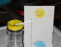 Barometer für Kinder basteln,Schule,Barometer