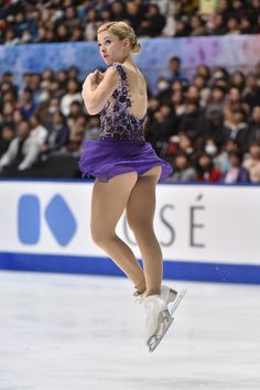 Gracie Gold Photos - Gracie Gold of the USA competes in the Ladies Free Program during day two of ISU Grand Prix of Figure Skating NHK Trophy at the Namihaya Dome on November 2014 in Osaka, Japan. - ISU Grand Prix of Figure Skating NHK Trophy - Day 2 Gymnastics Videos, Gymnastics Pictures, Olympic Gymnastics, Gymnastics Girls, Gracie Gold, Ice Girls, Female Gymnast, Athletic Girls, Beauty
