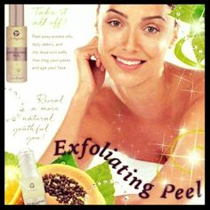 The Exfoliating Peel is a gentle, in home facial peel that boosts your skin's natural renewal with a bounty of botanical and fruit extracts that strip away the dead skin cells, excess oil, and daily debris that clogs your pores and age your face! call/text 414-758-0077 or my website katsnaturalbodywraps.com #facial #spa #women #moms #gerber #mommies #homemommy #exfoliatingpeel #excessoil #debris #beauty #smile #results #botanical #summer #deadskincells #milwaukee #natural #renewal pores…