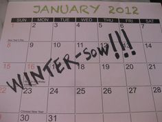 What to winter-sow and when.....Great list! I love winter-sowing! It's such an easy way to  start plants....:)