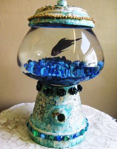 flower pot bowl fish1